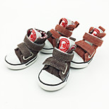 Fashion Pet shoes New Design Canvas Shoes For Dogs