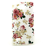 Floral Pattern TPU Material Phone Case for LG H220 / H422 / H502