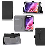 Protective Tablet Cases Leather Cases Bracket Holster for Asus Fonepad 7 (FE375CG)(7 inches)