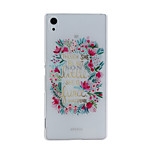 Faceplate Pattern PC Material Phone Case for Sony Xperia Z4