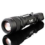 Lanternas LED/Lanternas de Mão ( Foco Ajustável/Prova-de-Água/Recarregável/Clipe/Zoomable ) - ParaCampismo / Escursão /