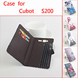 Flip Leather Magnetic Protective Case For Cubot S200(Assorted Colors)