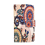 Special Design Of Graphics Pu Leather Flip And Card Slot Cell Phone Holster Galaxy A7 / A5 / A3