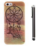 Dream Catcher Pattern TPU Soft Back and A Stylus Touch Pen for iPhone 5/5S