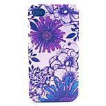 Medicago Pattern PC Material Phone Case for iPhone 4/4S