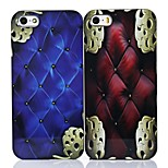 MAYCARI®Vintage Cushion Pattern ABS Hard Back Case for iPhone 5/5S