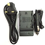 EU/AU/UK Power Cord 8.4V  EN-EL3/EL3E FNP150 Car Charger for Nikon D700 D300 D200 D100 D90 D80 D80S D70 D70S D50