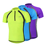 Arsuxeo Men's Cycling Short Sleeves Jersey  Breathable Quick Drying Clothing
