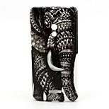 Elephant  Pattern TPU Soft Case for Asus Zenfone 5