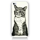 el teléfono del patrón del gato de nuevo la cubierta del caso para iphone5c