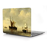 Famous Paintings Fisherman Set Sail Design Full-Body Protective Plastic Case for 12 Inch The NewMacbookwithRetinaDisplay