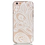 Hollow Flower Pattern Ultrathin Hard Back Cover Case for iPhone 6