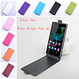 Flip Leather Magnetic Protective Case For Wiko Ridge Fab 4G(Assorted Colors)