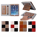 7.9 Inch Color Matching Pattern  Luxury Genuine Leather Wallet Case with Stand for iPad mini 1/2/3(Assorted Colors)