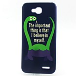 Dinosaur Pattern TPU Material Phone Case for LG L90 D405