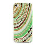 Stripe Pattern TPU Material Phone Case for iPhone 5/5S