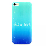This Is Fore  Pattern TPU Material Phone Case For iPhone 5/5S