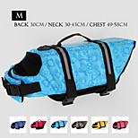 Oxford Cloth Wave Point Life Jacket for Dogs M