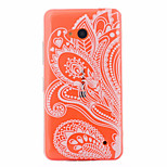 Semi Flowers Pattern PC Material Phone Case for Nokia 640