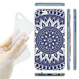 Blue and White Porcelain Grain TPU Soft Back Case for iPhone 6