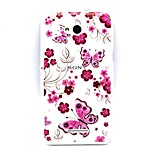 Butterfly Thin TPU Feel Protective Sleeve for Sony E4/E4G