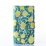 Lemon Pattern PU Leather Full Body Case with Stand for Multiple Sony Xperia Z3/T3
