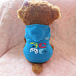 Holdhoney Red/Deep Blue/Pink/Light Blue Polar Fleece Hoodies For Pets Dogs (Assorted Sizes, Colors) #LT15050152