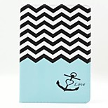 Wave Pattern PU Leather Full Body Case with Stand for Ipad Air 2 Ipad 6