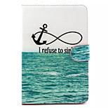 Sea anchor Pattern Hard Case for  iPad mini 3, iPad mini 2, iPad mini
