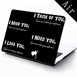 I Miss You Design Full-Body Protective Case for 11-inch/13-inch New MacBook Air