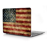 Vintage American Flag Design Full-Body Protective Plastic Case for 12