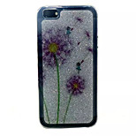 Color Dandelion Pattern Glitter TPU Cell Phone Soft Shell For iPhone 5/5S