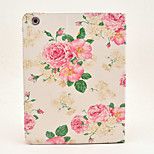 Upscale peony flower painted Tablet PC Case for Ipad2/3/4