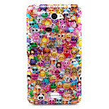 Animation Pattern Glitter TPU Material Soft Phone Case for Sony E4