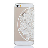 Right Flowers Pattern Hard Back Case for iPhone 5/5S