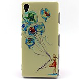 Aquarium Balloon Pattern TPU Material Phone Case for Sony Xperia Z3/Z3 Mini