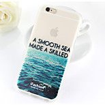 The Sea And The Sky  Pattern TPU Soft Case for iPhone 6/6S