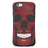 Human Face  Pattern PC + TPU Drop Resistance  Phone Shell For iPhone 6