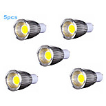 5pcs MORSEN® 9W GU10 700-750LM Support Dimmable Led Cob Spot Light Lamp Bulb