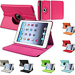 Durable Flip-open PU Leather Full Body Case with 360 Degree Rotation Stand for iPad 2/3/4 (Assorted Colors)