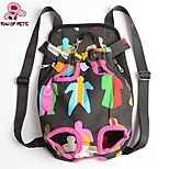 FUN OF PETS®Pet Travel Bag Cat Carrier Bag for Small Dogs Pet Five Holes Backpack Front Chest Backpack(Assorted Sizes)