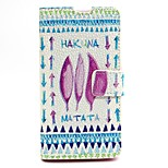 Clover Pattern PU Leather Full Body Case with Card Slot and Stand for Nokia 640