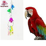 FUN OF PETS® Colorful Bottle-shaped Chewing Lot with Bell for Birds (Random Colour)