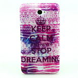 Imperial Crown Pattern Glitter TPU Material Soft Phone Case for Sony E4