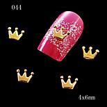 10 - Bijoux pour ongles/Autre décorations - Doigt/Orteil/Autre - en Bande dessinée/Fruit/Fleur/Abstrait/Adorable/Punk/Mariage - 6*5*1