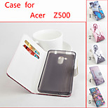 Flip Leather Magnetic Protective Case For Acer Liquid Z500(Assorted Colors)