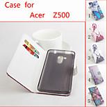 cuir flip étui de protection magnétique pour Z500 liquides acer (couleurs assorties)