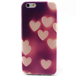 Love Pattern TPU Painted Soft Back Cover for iPhone 6