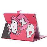 plegables funda de piel rombo pu con soporte para iPad 1/2/3/4 (colores surtidos)