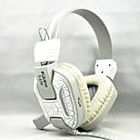 professionell stereo PC gaming headset ledde bas hörlurar för dataspel